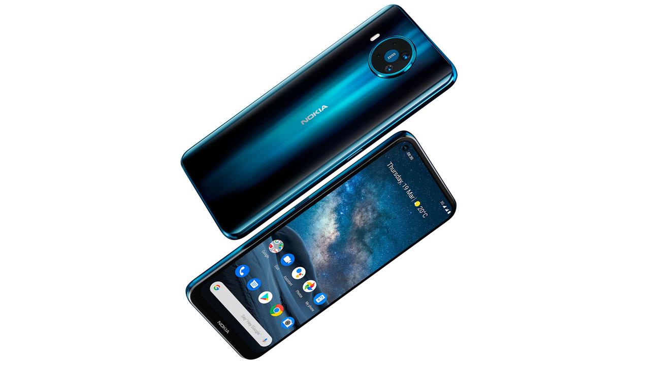El Nokia 8.3 5G encabeza los anuncios de marzo de HMD