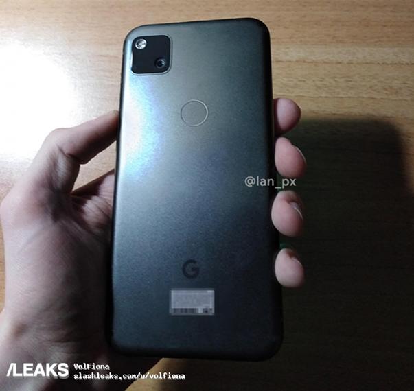 Google Pixel 4a - Cubierta trasera