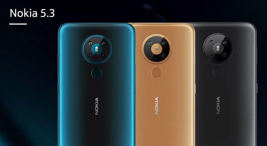 Nokia 5.3 - Colores