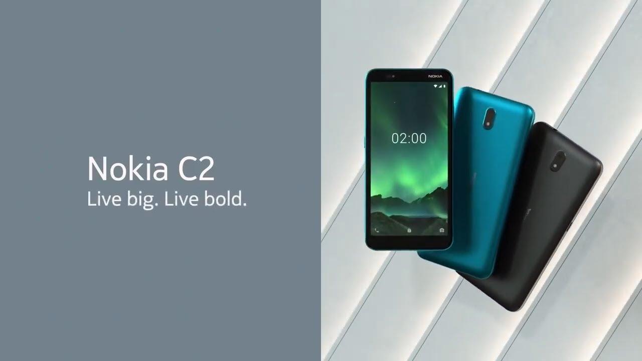 Nokia C2, nuevo Nokia gama básica con Android GO a bordo