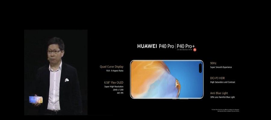 Pantalla Huawei P40