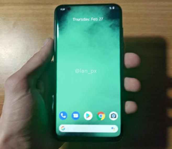 Primera mirada al Google Pixel 4a