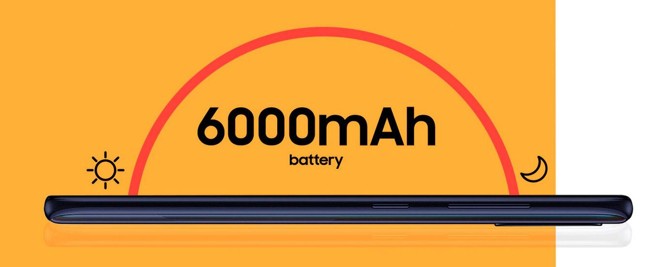 Samsung Galaxy M21 - Batería