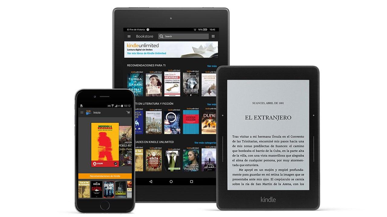 Amazon ofrece dos meses gratuitos de Kindle Unlimited