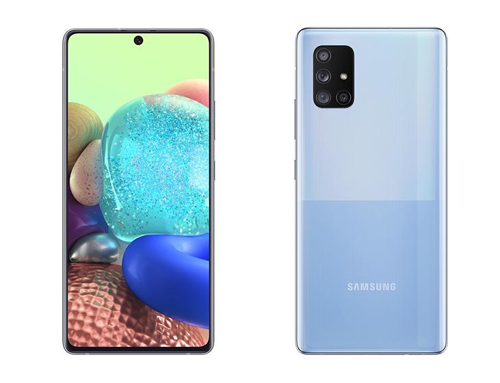 Así son el Galaxy A71 y Galaxy A51