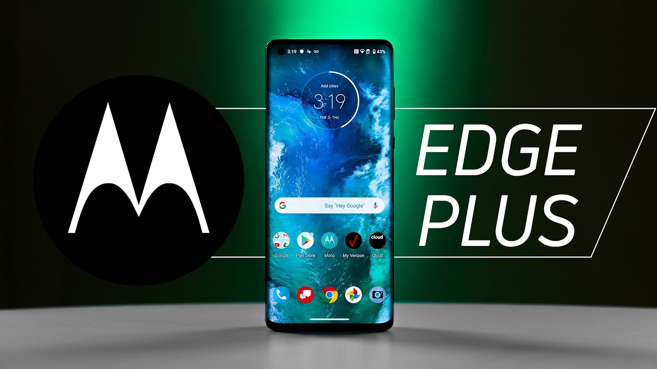 Motorola Edge y Edge Plus, topes de gama con pantalla Endless Edge y 5G