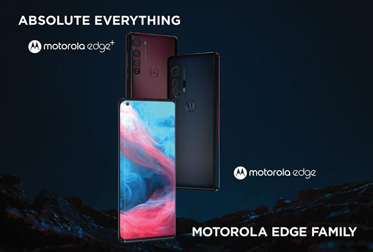 Motorola Edge y Motorola Edge Plus