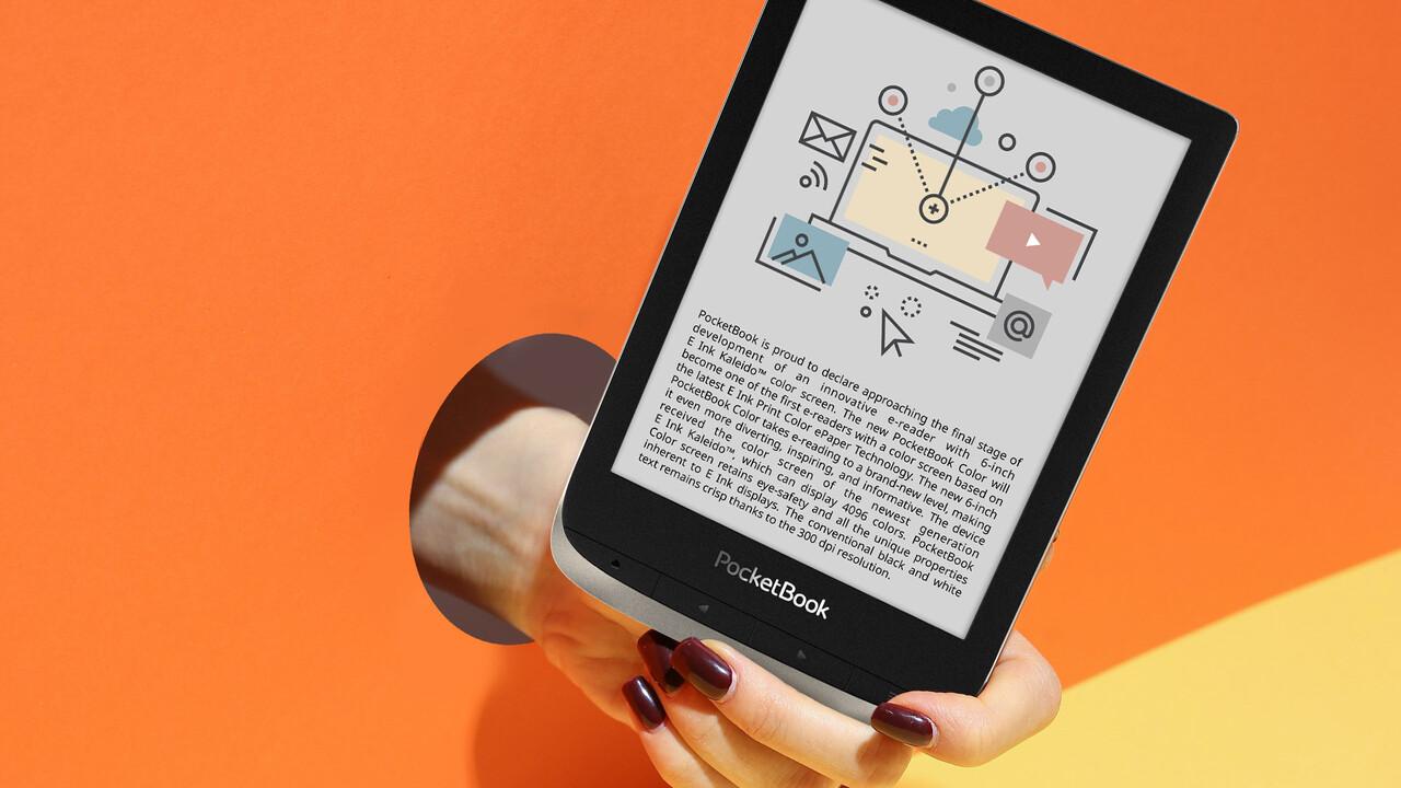 PocketBook aprovecha el día de libro para anunciar un nuevo e-Reader