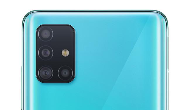 Samsung Galaxy A71 - Cámaras