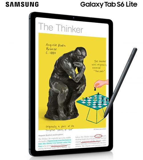 Samsung Galaxy Tab S6 Lite - S Pen y pantalla