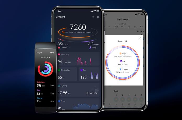 Xiaomi Amazfit X - Funciones