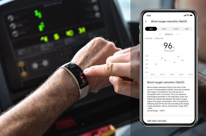 Xiaomi Amazfit X - Monitor de oxígeno en la sangre