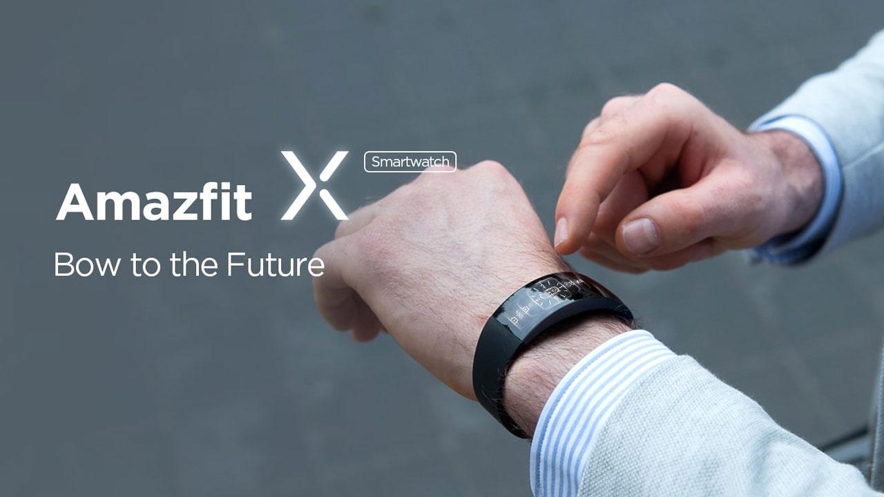 Xiaomi Amazfit X, Smartband innovadora con pantalla curva y medidor de O2