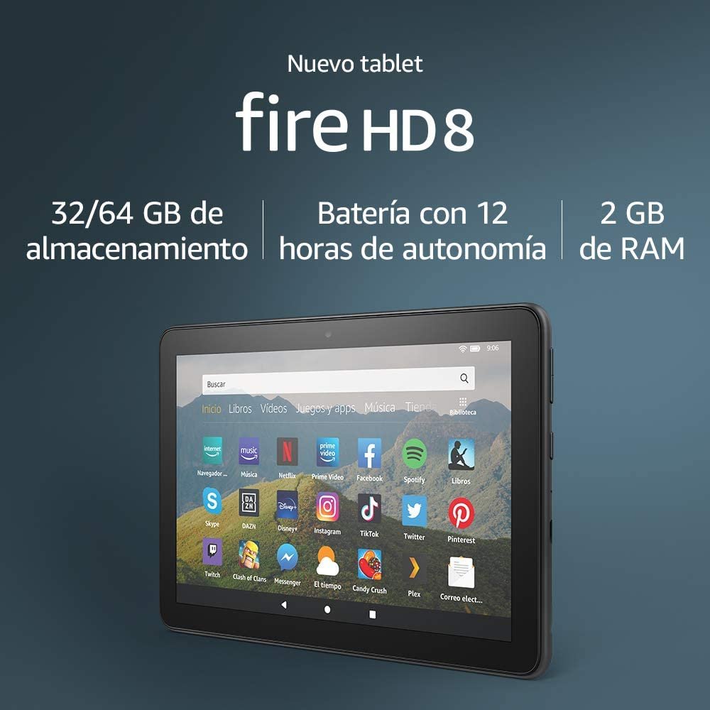 Amazon Fire HD 8 - Especificaciones
