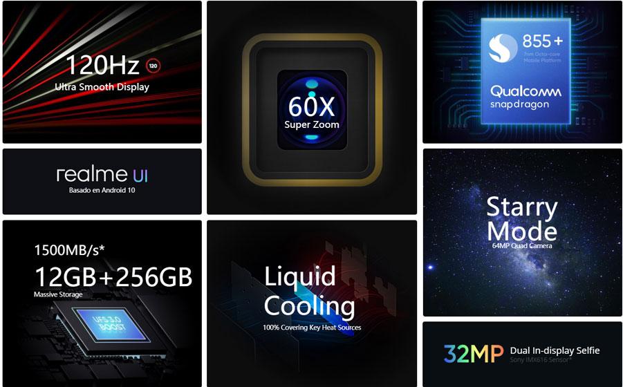 Realme X3 SuperZoom - Diseño