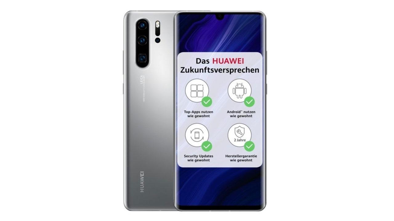 Huawei P30 Pro New Edition, mismo móvil, pero con nuevo acabado y servicios de Google
