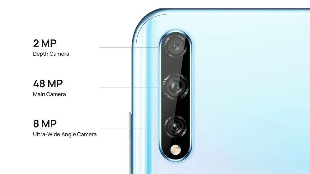 Huawei Y8p - Cámaras