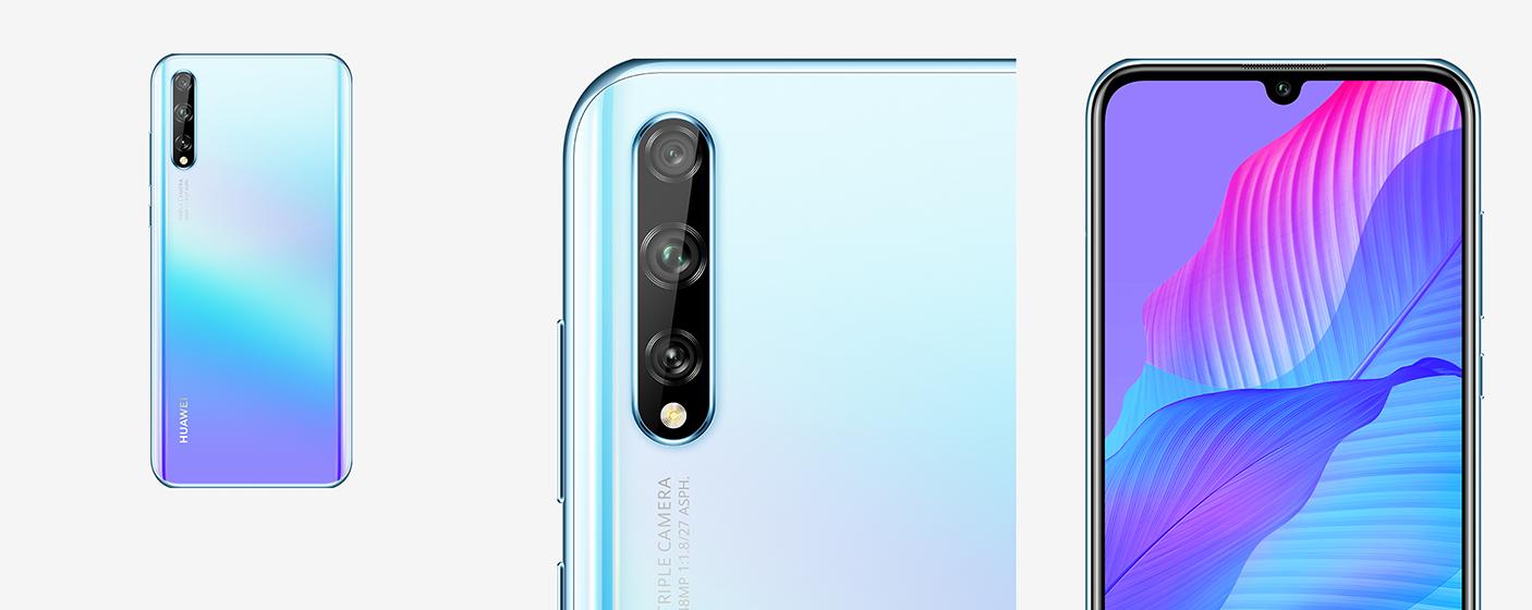 Huawei Y8p - Diseño