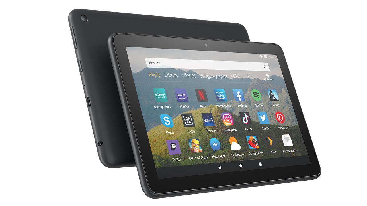 Nuevo Fire HD 8, la nueva generación de tabletas de Amazon