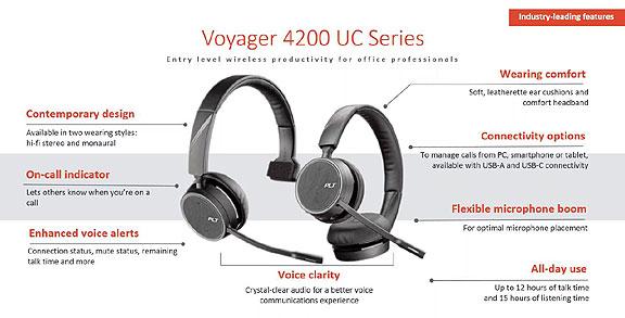 Plantronics Voyager 4220 - Características