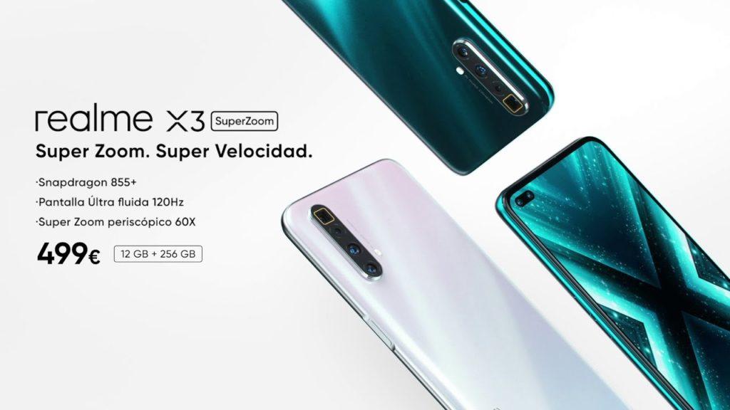Realme X3 SuperZoom, un flagship para fotografiar las estrellas