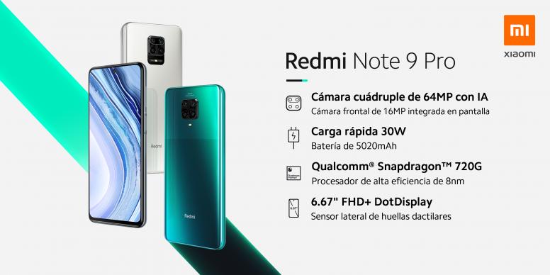 Redmi Note 9 Pro - Especificaciones