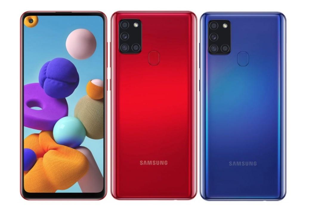 Samsung Galaxy A21 - Colores