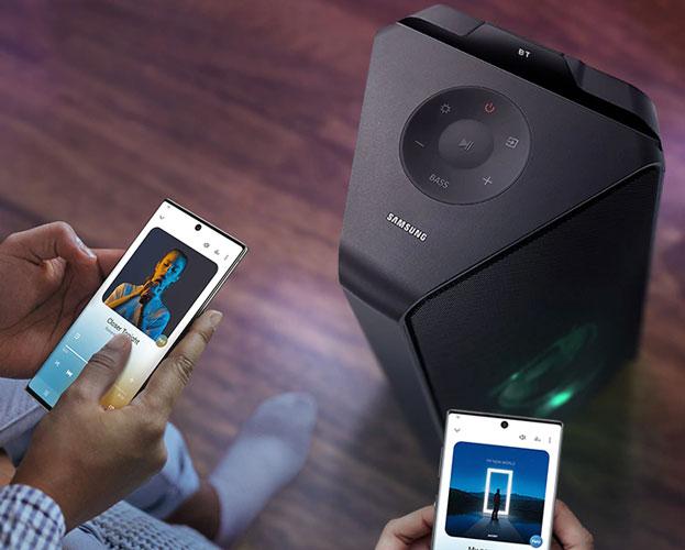 Samsung Giga Party MXT50 - Conectividad Bluetooth