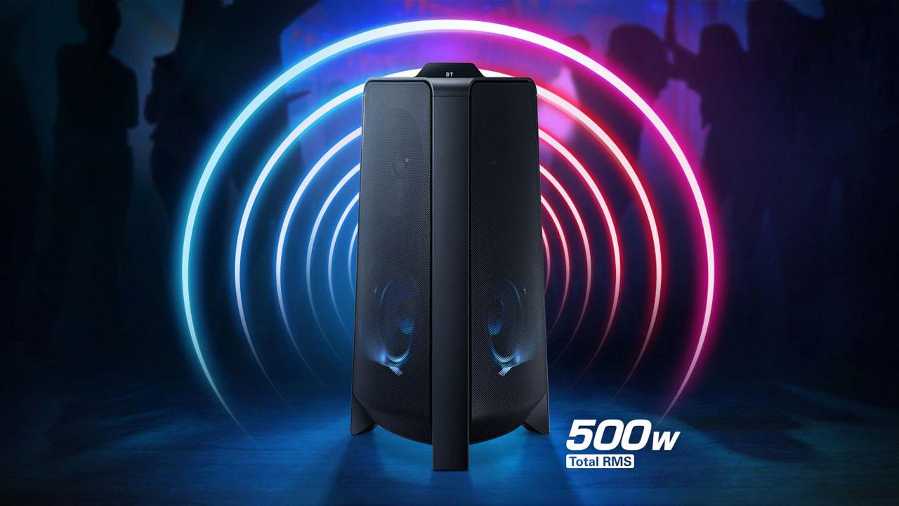 Samsung Giga Party MXT50 - Destacada