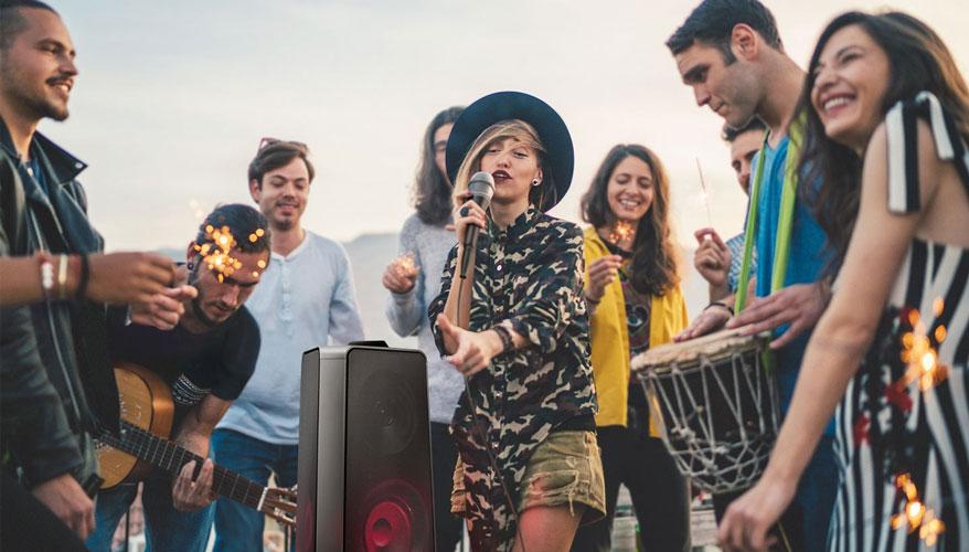 Samsung Giga Party MXT50 - Karaoke