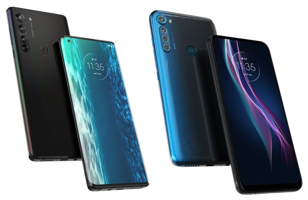 Uno de estos renders corresponde al Motorola One Fusion+ y otro al Motorola Edge, pero todavía no hay confirmación de cuál es cuál