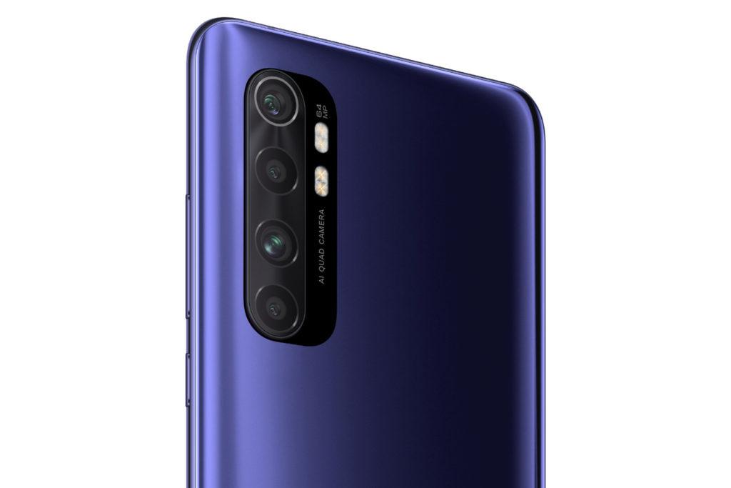 Xiaomi Mi Note 10 Lite - Cámaras