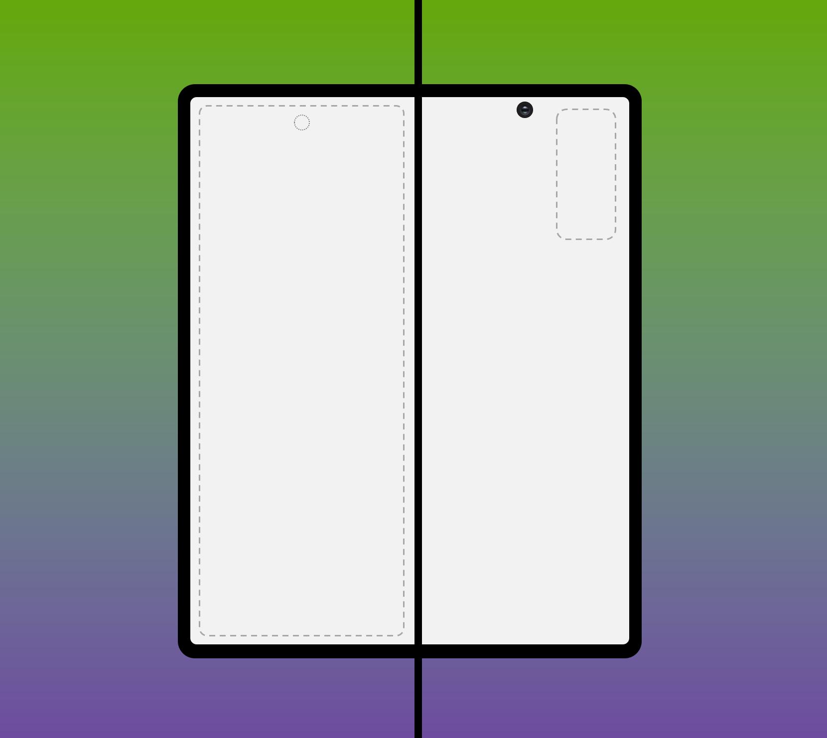 Así podría lucir el Samsung Galaxy Fold 2
