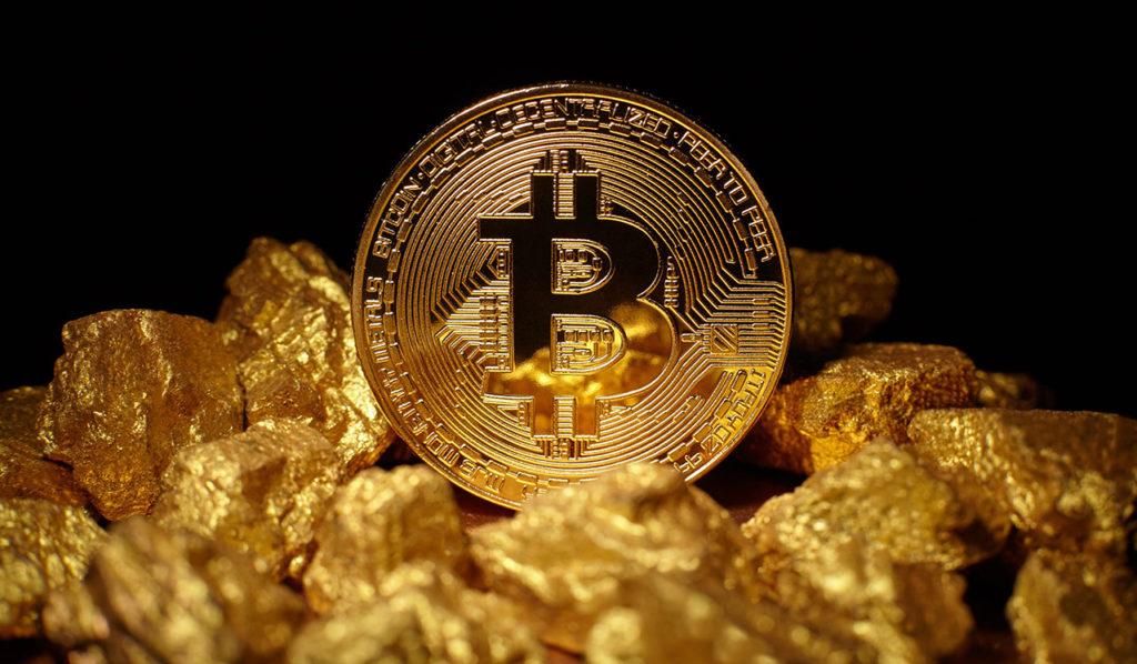 Bitcoin rivalizará con el oro