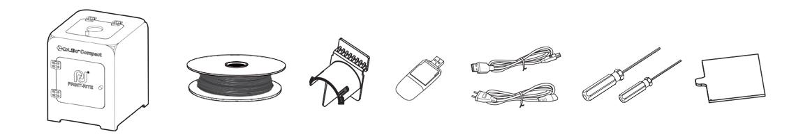 CoLiDo Compact - Contenido del paquete