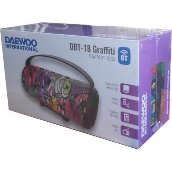 Daewoo DBT-18 - Empaque