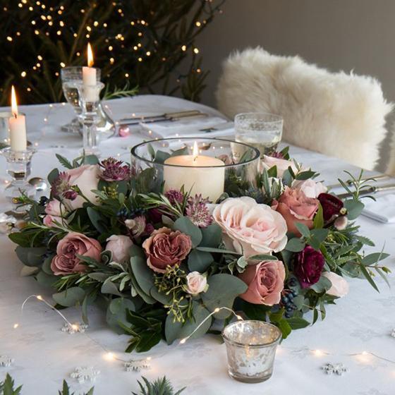Decoración para bodas - Centros de mesa