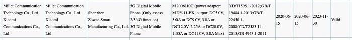 Xiaomi Redmi 40K