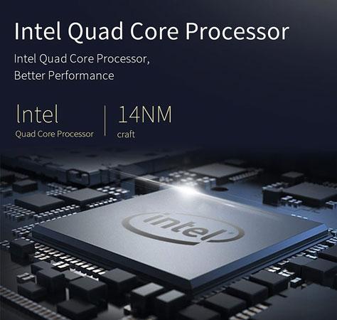 Jumper EZbook S5 - CPU