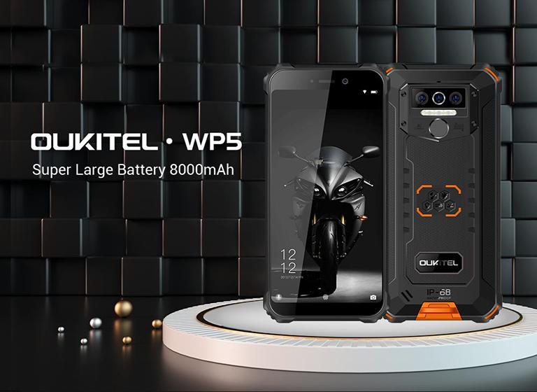 Oukitel WP5 - Diseño