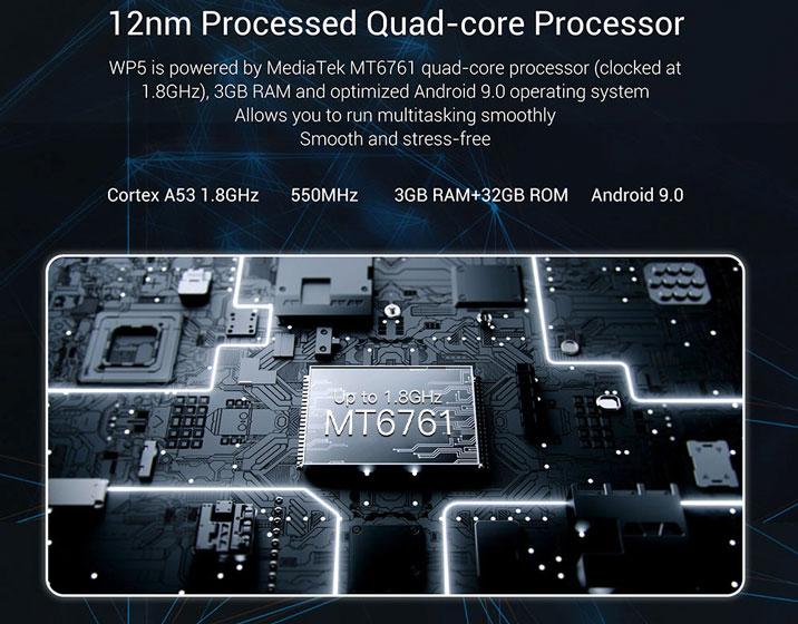 Oukitel WP5 - Hardware