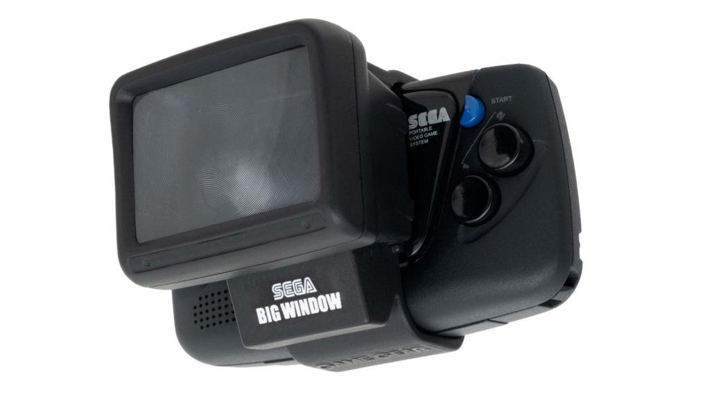 SEGA Game Gear Micro - Big Windows Micro