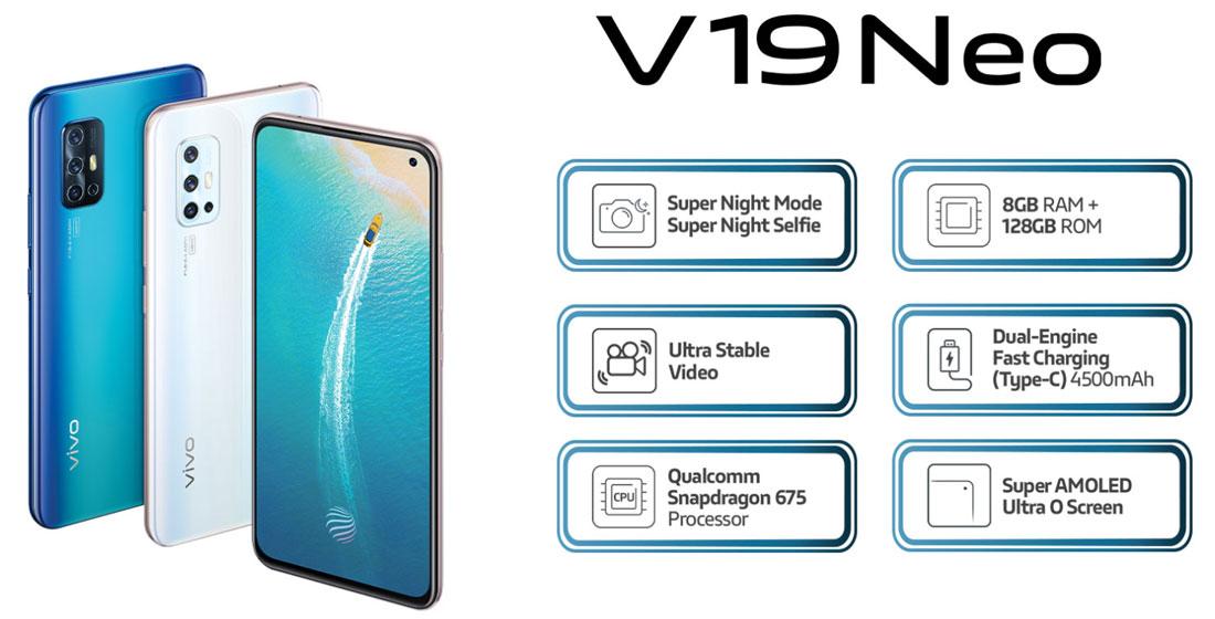 Vivo V19 - Hardware y características
