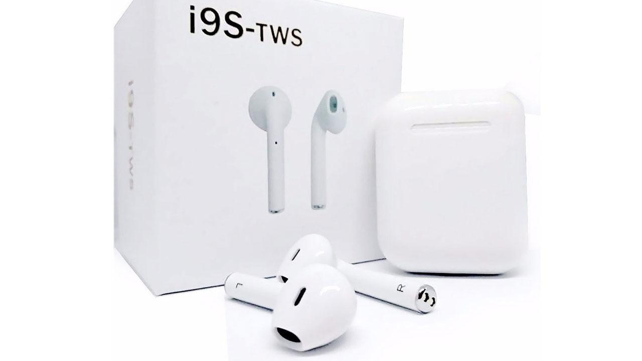 i9S TWS, auriculares totalmente inalámbricos y económicos