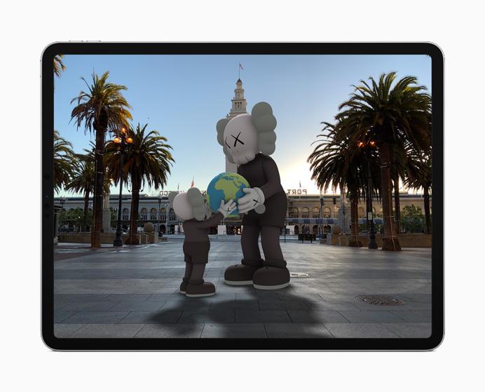 iPadOS 14 - Realidad aumentada