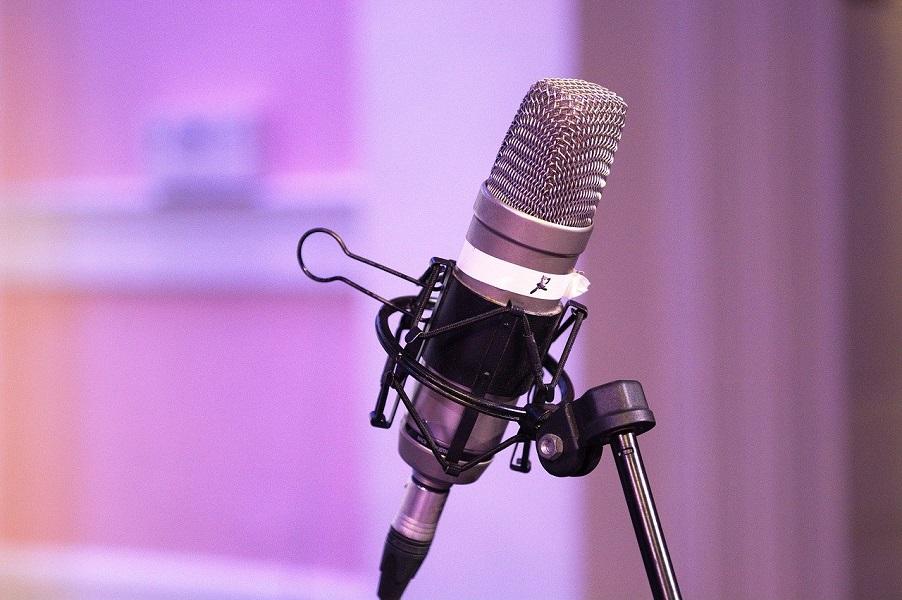 microfono para podcasts