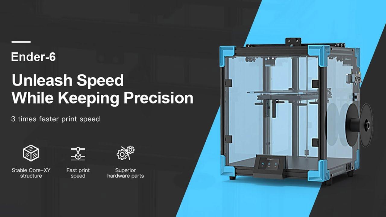Creality Ender 6, Impresora PLA bastante completa a precio razonable