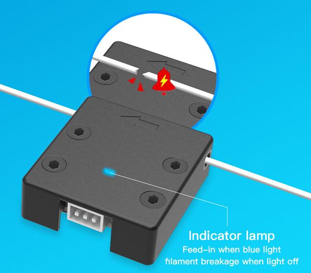 Creality Ender 6 - Sensor de filamento