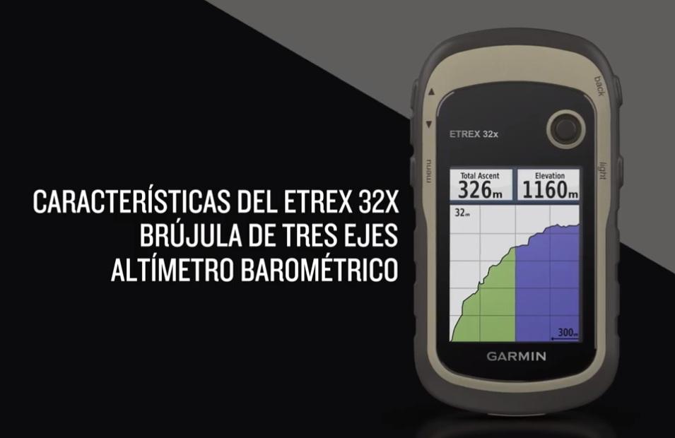 Diferencias entre el eTrex 20x, 22x y 32x