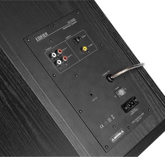 Edifier R2750DB, conexiones